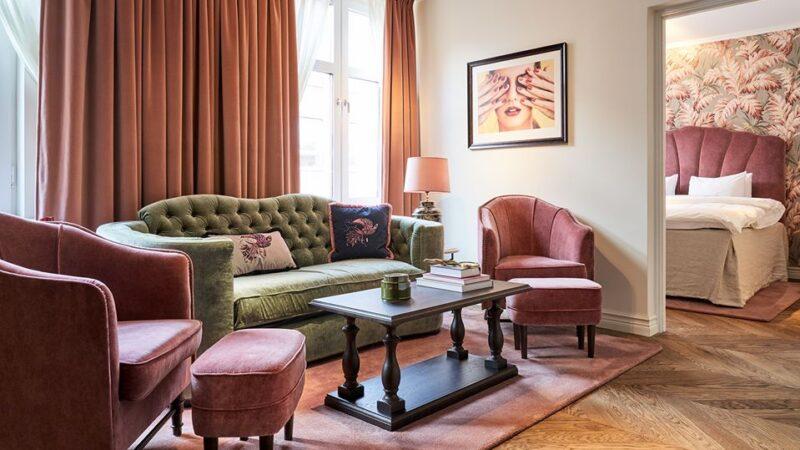 Galet, elegant och lyxigt på stans trendigaste hotell